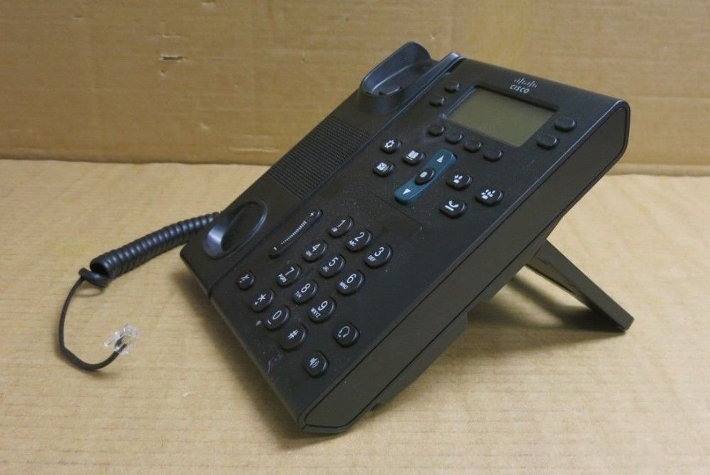 Cisco CP-6941-CL-K9 Unfied IP VoIP Telephone Phone Charcoal With Stand